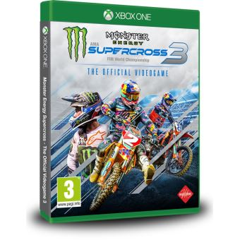 MONSTER ENERGY SUPERCROSS 3 FR/NL XONE