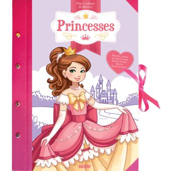 Mon carton à dessins princesses