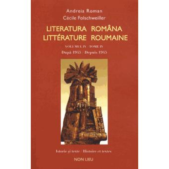 Literatura Romana Llitterature Roumaine