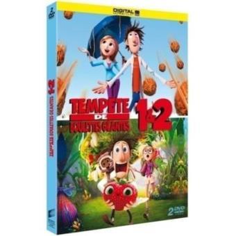 Tempête de boulettes géantes - Tempête de boulettes géantes 2 : L'île des Miam-nimaux Coffret 2 DVD