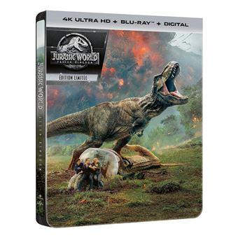 Jurassic ParkJurassic World : Fallen Kingdom Steelbook Blu-ray 4K Ultra HD