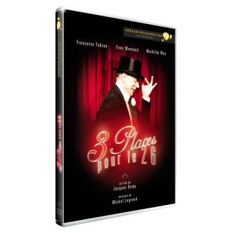 Trois places pour le 26 - DVD