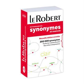 Le Robert Synonymes et nuances - poche