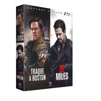 Coffret 22 Miles et Traque à Boston Blu-ray