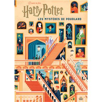 Harry Potter Le Guide Illustre Les Mysteres De Poudlard