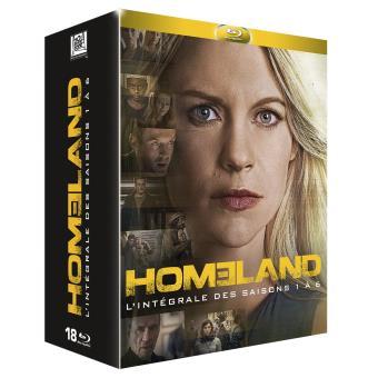 HomelandHomeland Saisons 1 à 6 Coffret Blu-ray