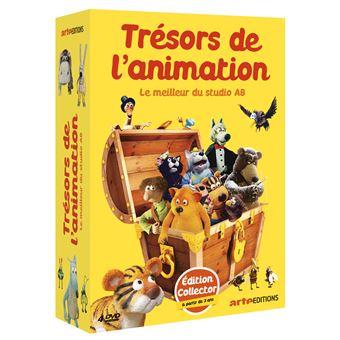 Les trésors de l'animation DVD