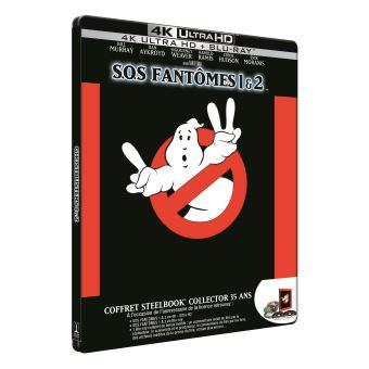S.O.S. FantômesCoffret S.O.S. Fantômes et S.O.S. Fantômes 2 Steelbook Blu-ray 4K Ultra HD