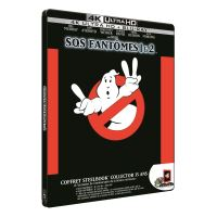 Coffret S.O.S. Fantômes et S.O.S. Fantômes 2 Steelbook Blu-ray 4K Ultra HD