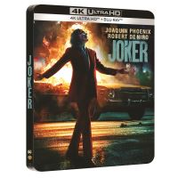 Joker Steelbook Blu-ray 4K Ultra HD