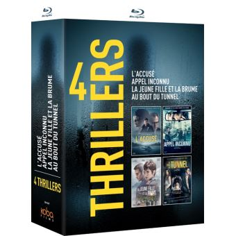 Coffret 4 Polars espagnols Blu-ray