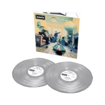 Definitely Maybe: 25th Anniversary Limited Edition - 2LP Silver Vinil 12''
