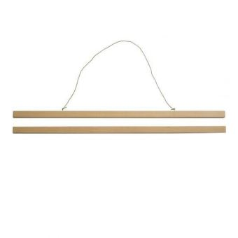 WOODEN DISPLAY STRIP 62CM