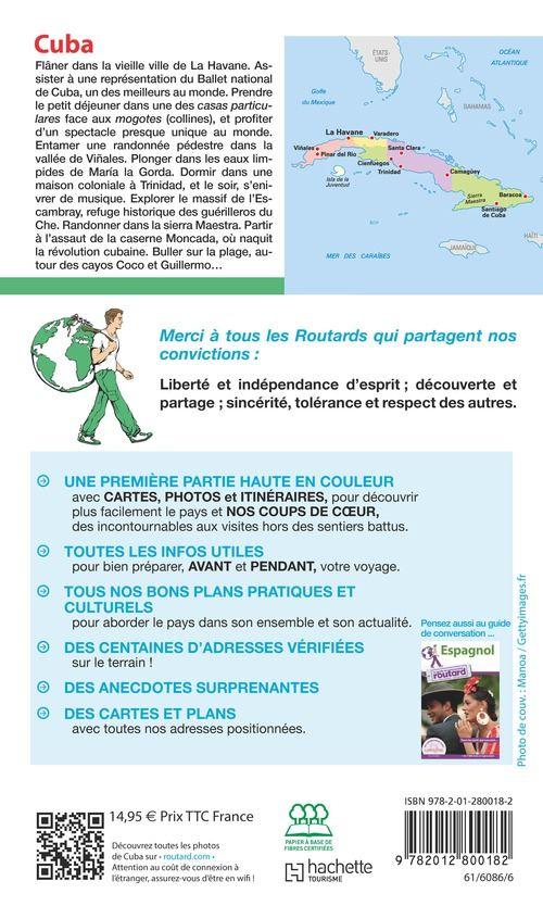 Carte Cuba Guide Du Routard.Guide Du Routard Cuba 2018
