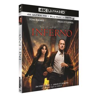 Inferno Blu-ray 4K Ultra HD