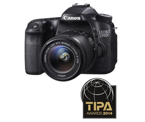 Reflex Canon EOS 70D WiFi Intégré + EF-S 18 - 55 mm f/3.5 - 5.6 IS STM