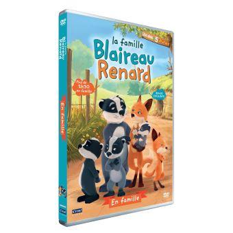 La famille Blaireau RenardLa famille Blaireau Renard Volume 2 : En famille DVD