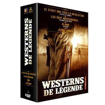 Coffret Westerns de légende Volume 2 - 4 films DVD