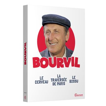 Coffret Bourvil 3 films DVD