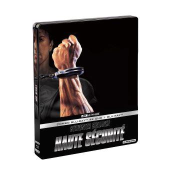 Haute sécurité Steelbook Blu-ray 4K Ultra HD