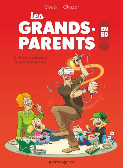 Les grands-parents en BD