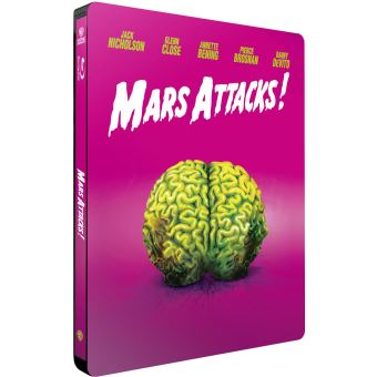 Mars attacks/steelbook iconic edition limitee