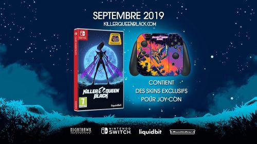 Killer Queen Black Nintendo Switch