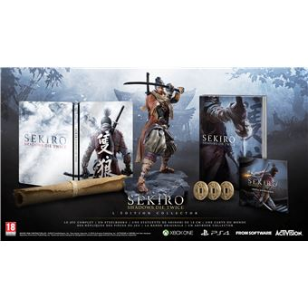 Sekiro Shadows Die Twice Edition Collector PS4