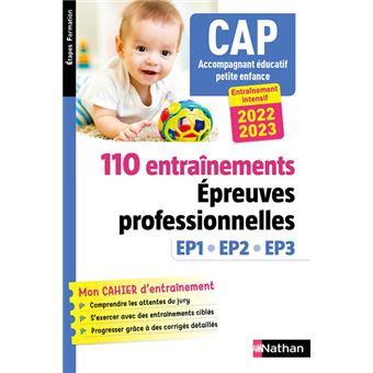 110 Entrainements Epreuves Prof Ep1 Ep2 Ep3 Cap Accompagnant Educatif Petite Enfance Efs
