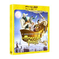 Un monstre à Paris Combo Blu-ray 3D + DVD