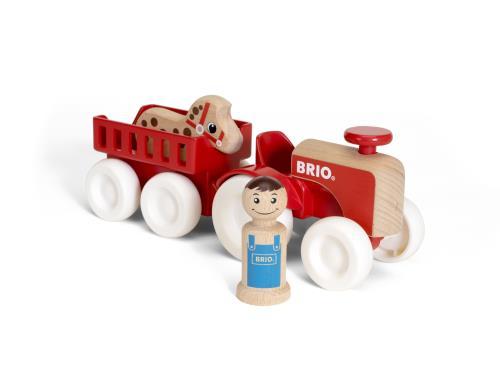 Brio My Home Town Tracteur Et Remorque