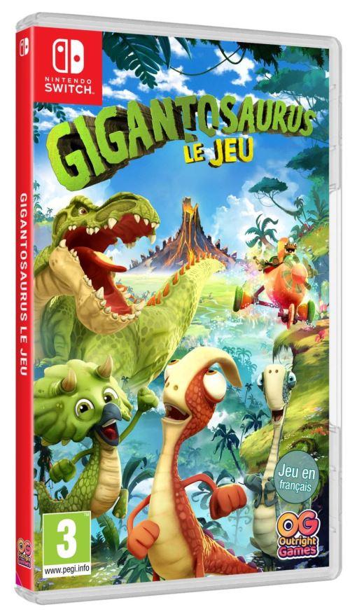 Gigantosaurus Le Jeu Nintendo Switch