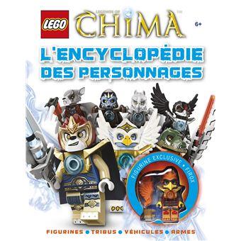 Lego legends of chima l 39 encyclop die des personnages lego legends of chima collectif - Image de lego chima ...
