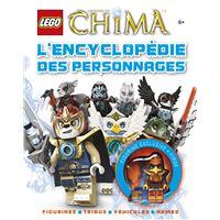 L'encyclopédie des personnages Lego Legends of Chima