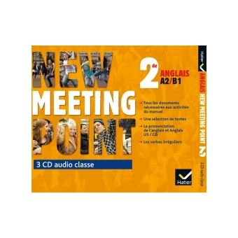 New Meeting Point 2de éd. 2014 - 3 CD audio classe
