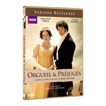 Orgueil et préjugésOrgueil et préjugés Version Restaurée L'intégrale de la série DVD