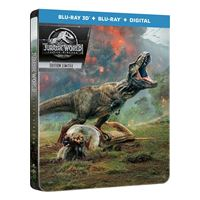 Jurassic World : Fallen Kingdom Steelbook Blu-ray 3D