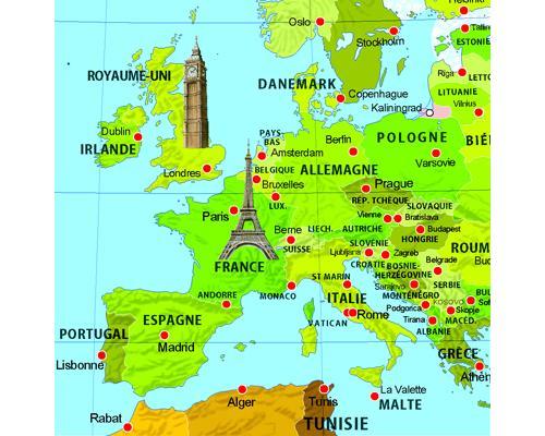 prague carte du monde