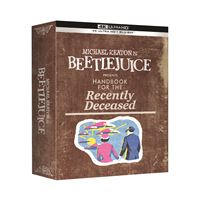 Coffret Beetlejuice Edition Collector Blu-ray 4K Ultra HD