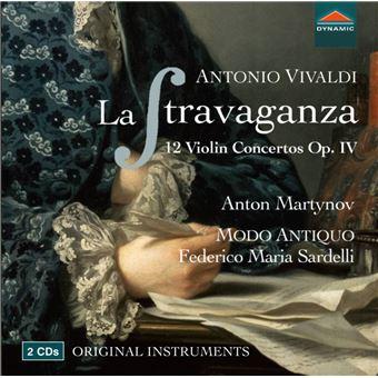 Stravaganza/12 concertos pour violon op 4