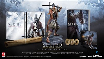Sekiro Shadows Die Twice Edition Collector Xbox One