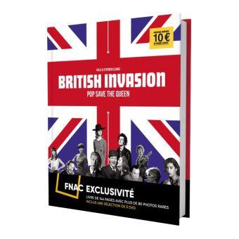 Coffret British Invasion 5 Films Exclusivité Fnac DVD