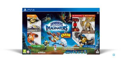Skylanders Imaginators Starter Pack Crash Bandicoot PS4