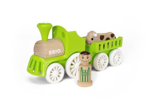 Brio My Home Town Train De La Ferme