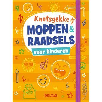 Knotsgekke moppen & raadsels voor kinderen