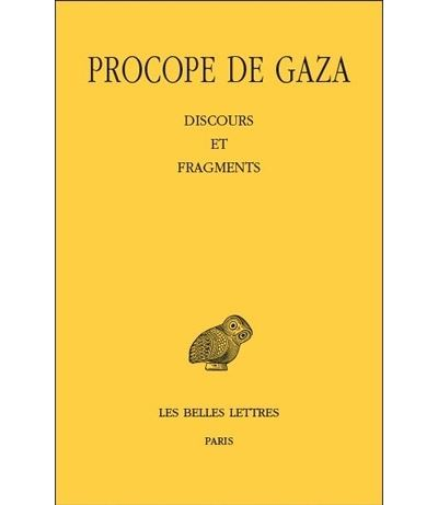 Discours et fragments