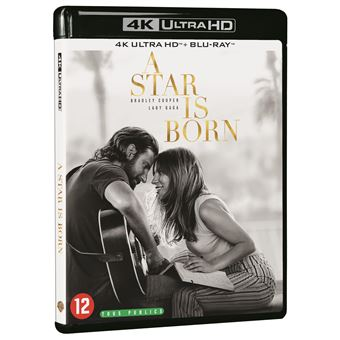A STAR IS BORN-BIL-BLURAY 4K
