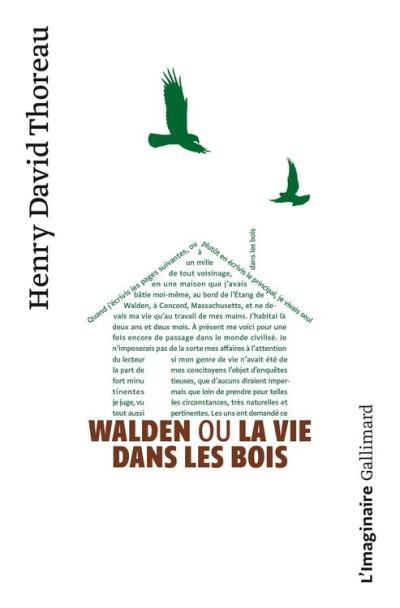 Walden ou La vie dans les bois - 9782072060229 - 11,99 €