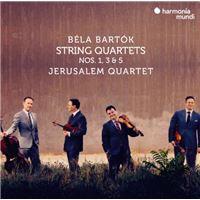Béla Bartók: String Quartets Numéros 1, 3 and 5