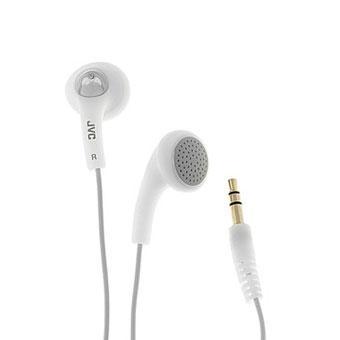 JVC HA-F160 GUMY WHITE EARPHONES